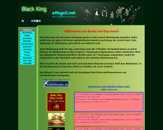 King Award Screenshot Black King