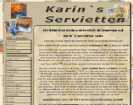 King Award Screenshot Karin's Servietten