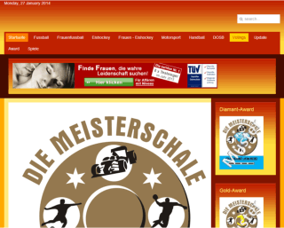 King Award Screenshot Die Meisterschale