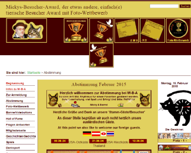 King Award Screenshot Mickys Besucher Award