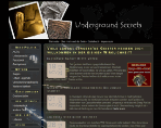 King Award Screenshot Underground Secrets