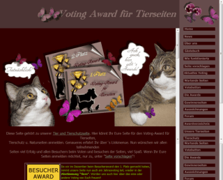 King Award Screenshot Voting Award Tierseiten